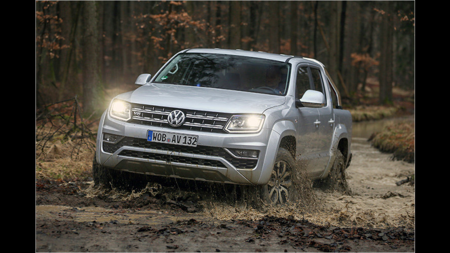 Im Test: VW Amarok mit V6-Dieselmotor