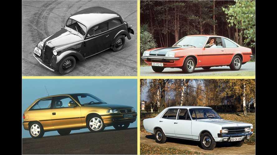 Opel-Historie: Die 10 wichtigsten Opel-Modelle aller Zeiten