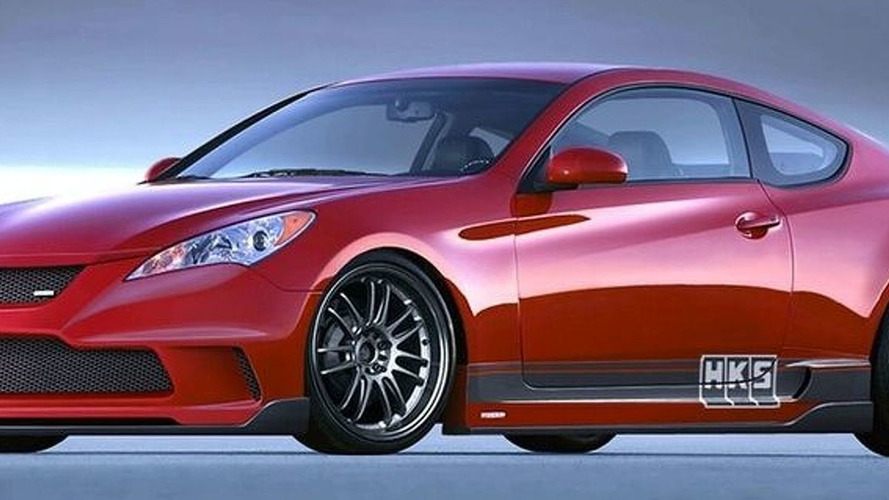 HKS Shows Hyundai Genesis Coupe for SEMA