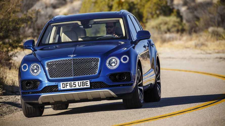 Bentley doit rappeler 6000 Bentayga dans le monde