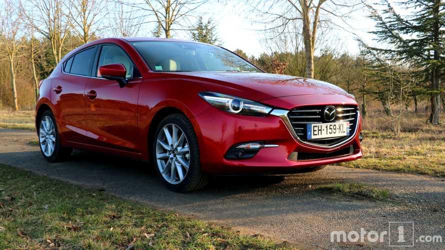 Mazda rappelle sa Mazda3 à cause des essuie-glaces