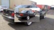 Tupac'in içinde vurulduğu BMW 750iL