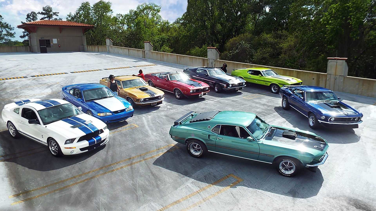 Speed Family Mustang Collection