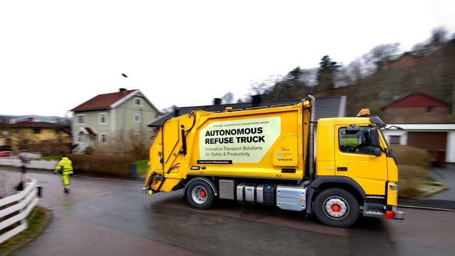 Volvo expérimente un camion-poubelle autonome