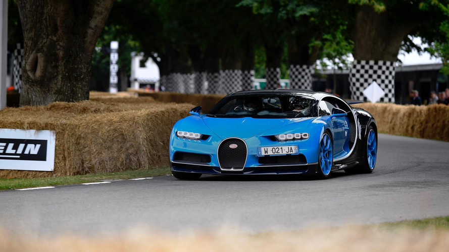 Bugatti Brings Nearly 10,000hp To Goodwood