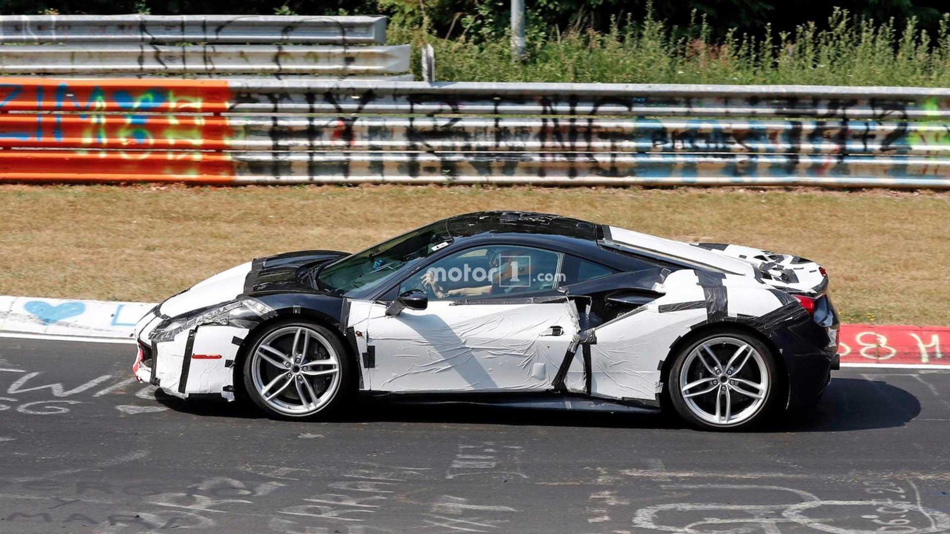 Ferrari 488 replacement