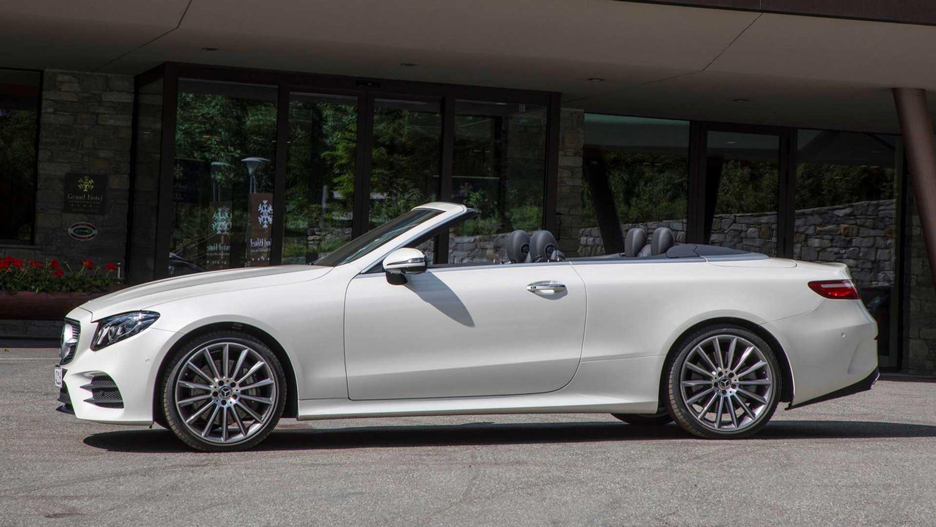 2018 E400 Convertible >> Most Expensive 2018 Mercedes Benz E400 Cabriolet Costs 96 395