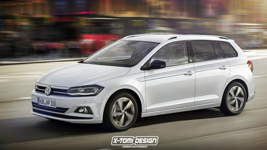 2018 VW Polo Render Bonanza: Sedan, Wagon, Alltrack