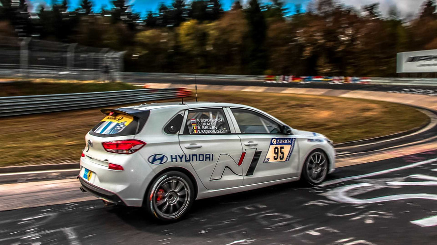 Two Hyundai i30 N Prototypes Enter 24 Hours Of Nurburgring