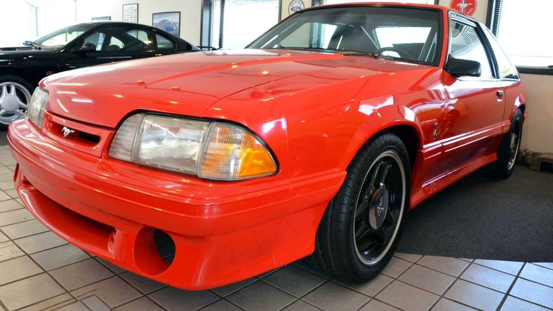 This Rare Mustang Cobra R Prototype Should Have Been Destroyed