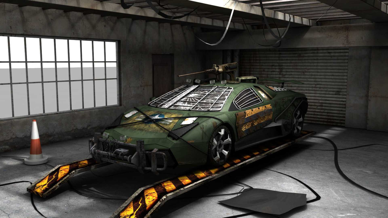 Road of the Dead Lamborghini Reventon