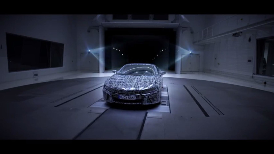 BMW i8 Roadster 2018 teaser