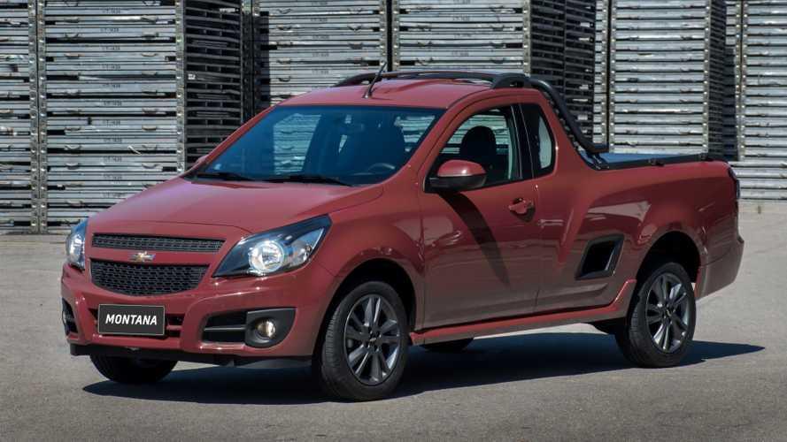 Chevrolet Montana sai de linha na Argentina após vendas fracas