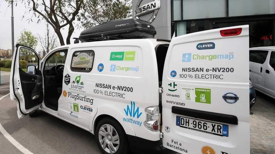 De Barcelona a Cabo Norte en un Nissan e-NV200