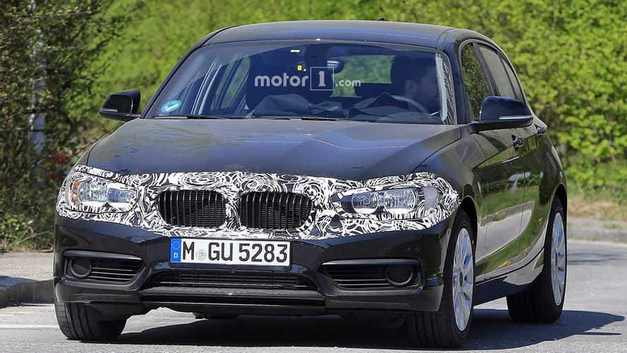 BMW Série 1 restylée 2017 photos espion