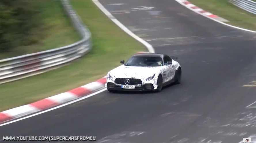 """VIDÉO - Une AMG GT """"Black Series"""" en piste au Nürburgring ?"""