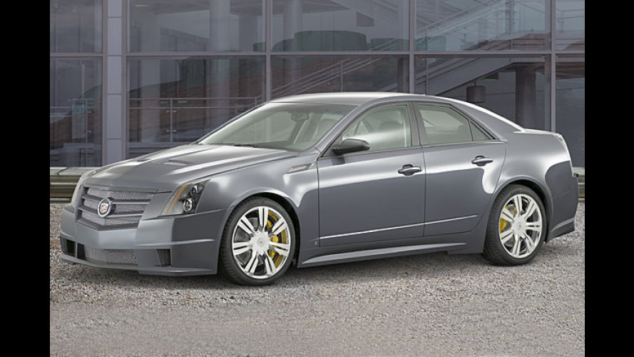 Starke Limousine in Las Vegas: Studie Cadillac CTS Sport