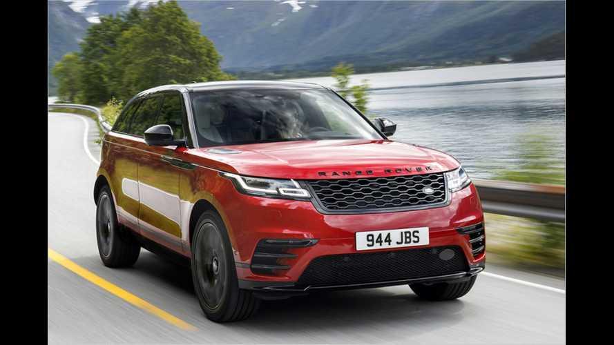 Puristisches Luxus-SUV: Range Rover Velar im Test