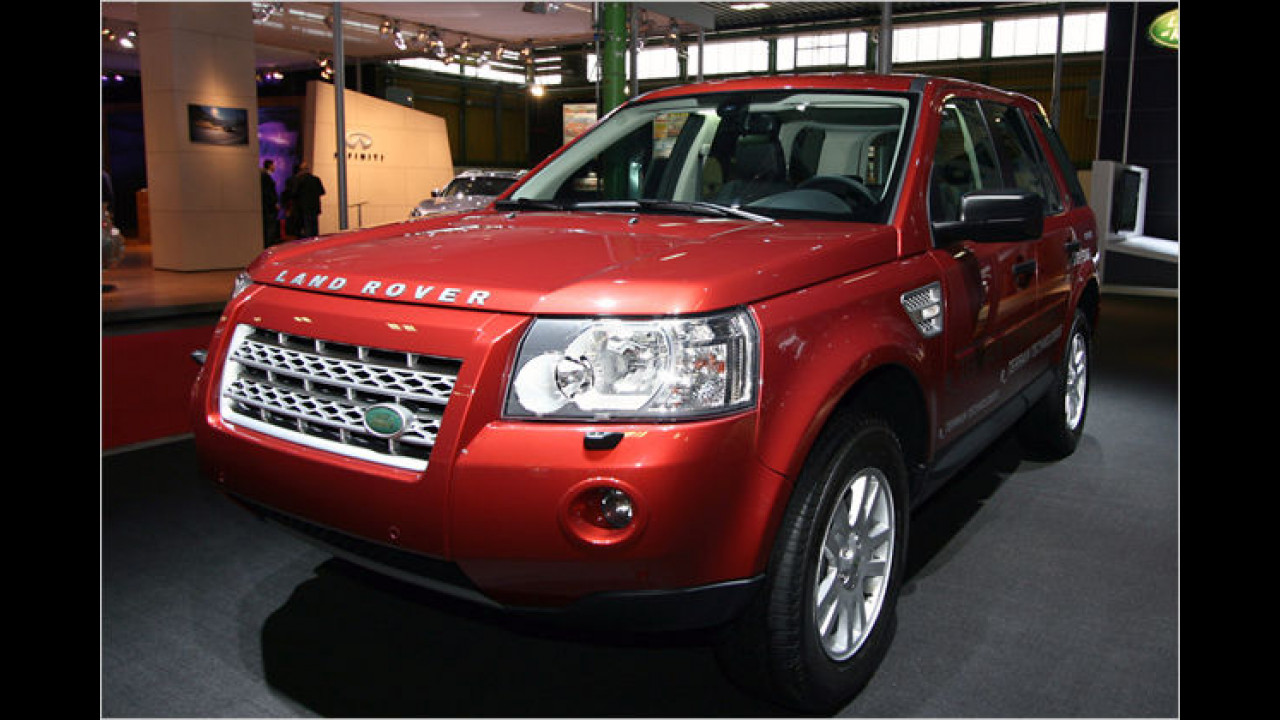 Land Rover Freelander Stop/Start