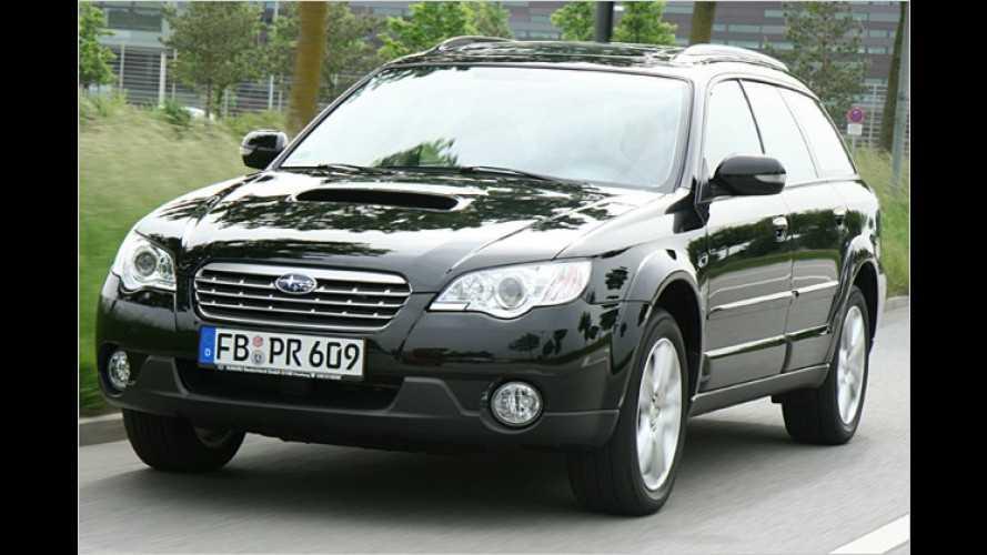 Der Ton macht die Musik: Der Subaru Outback Diesel im Test