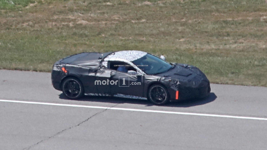 Mid-Engined Corvette Spied With Production Sheet Metal