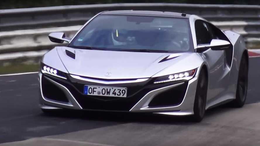 VIDÉO - Est-ce la Honda NSX Type R sur le Ring ?