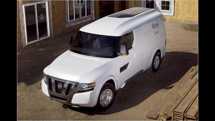 NV2500: Nissan präsentiert ,rollendes Versuchslabor