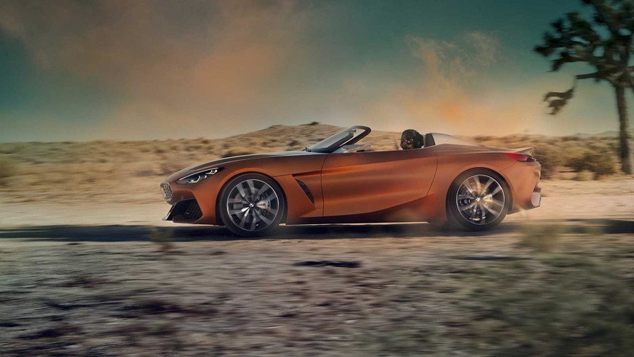 BMW Z4 Concept Fully Leaked, And It's Gorgeous