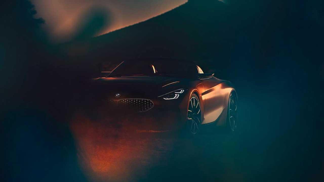 BMW Z4 Concept 2018 teaser