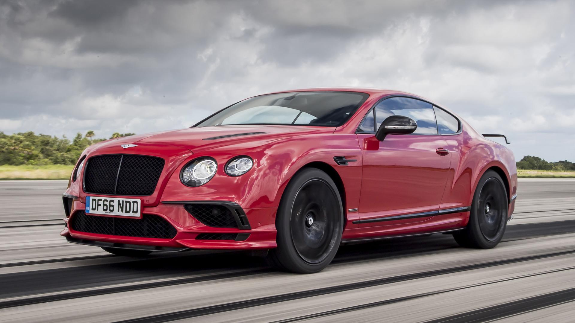 2017 Bentley Continental Supersports First Drive An Incredible Send Off