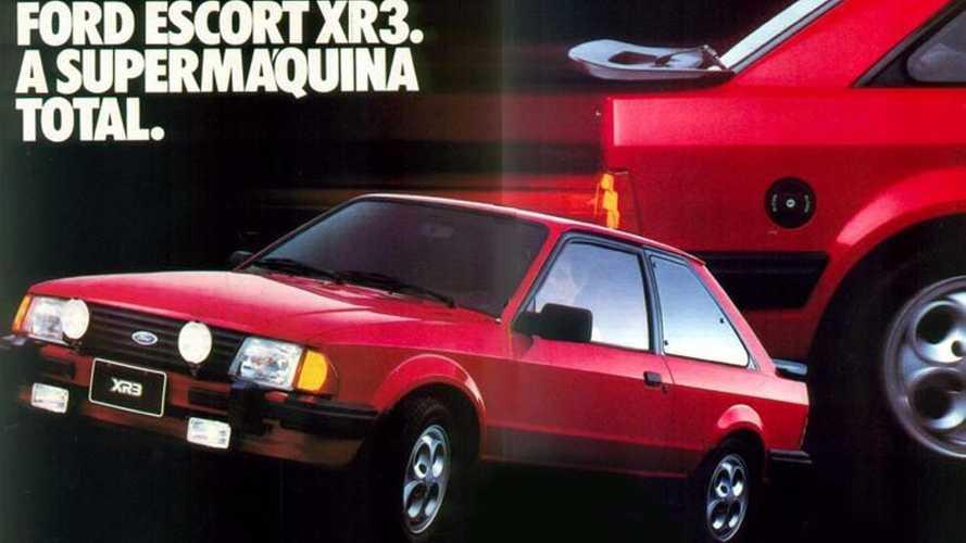 Ford Escort XR3, esportivo icônico dos anos 80, comemora 35 anos
