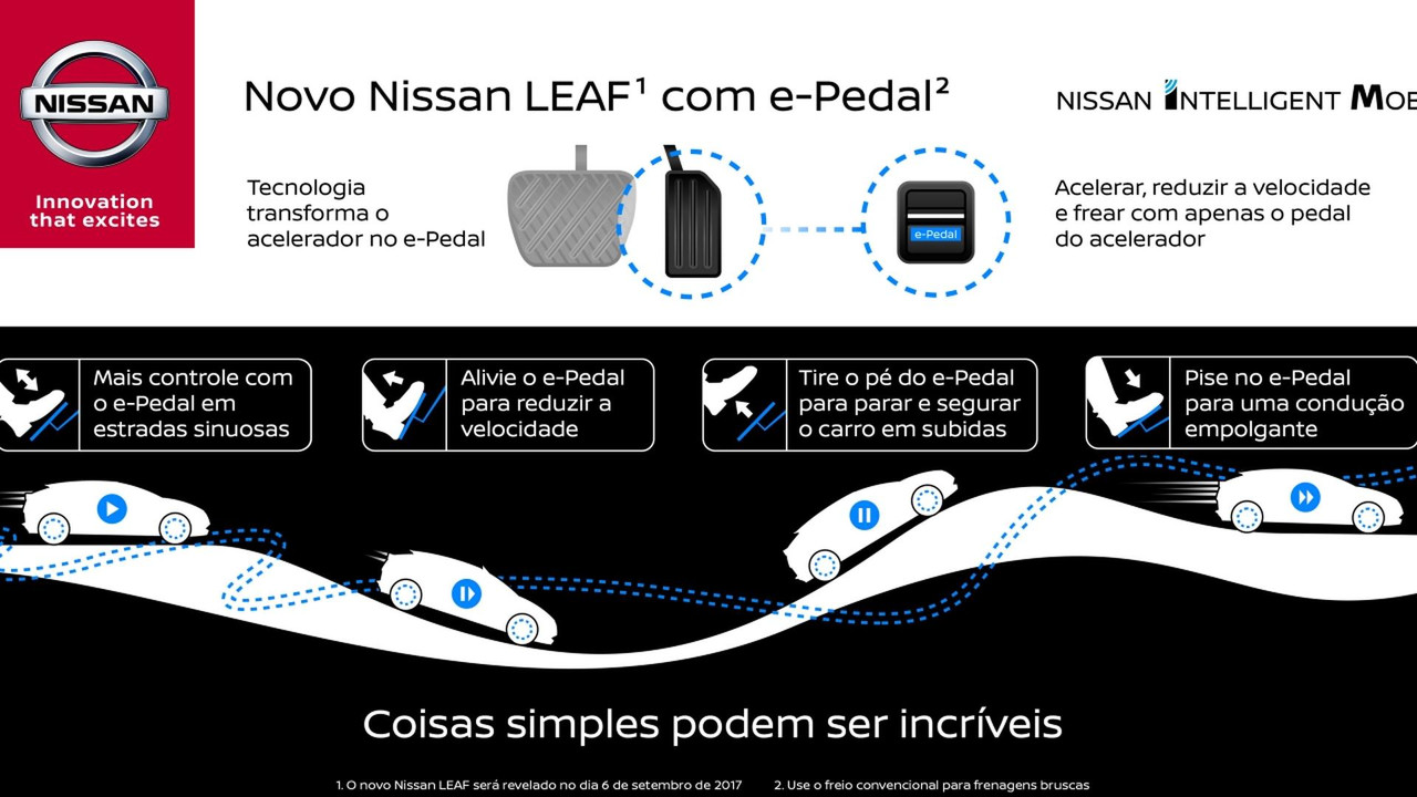 Nissan Leaf 2018 teaser