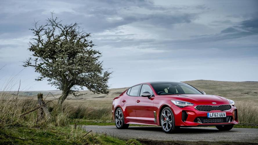 We're just getting the one flavour of Kia Stinger