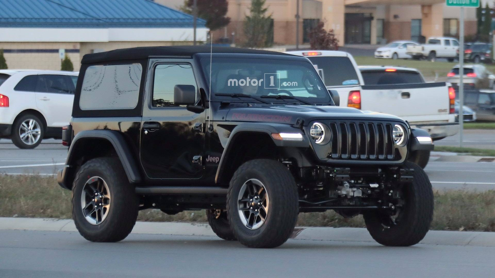 Entire 2018 Jeep Wrangler Lineup graphed Road 40