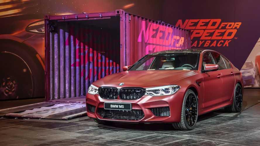 VIDÉO - La BMW M5 telle une reine dans Need For Speed Payback
