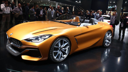 BMW Z4 Concept Wows The Crowds