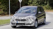 2018 BMW 2 Series Gran Tourer facelift spy photos