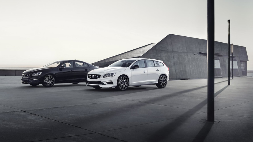 Du carbone pour les Volvo S60 et V60 Polestar 2018