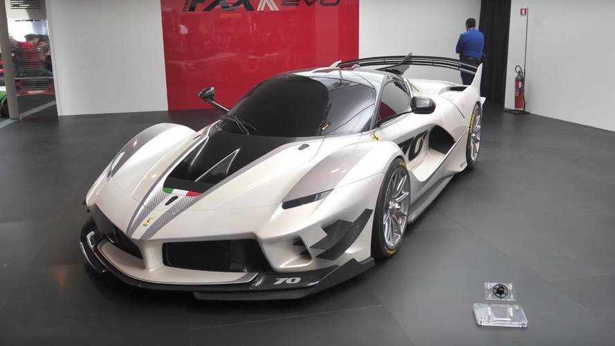 VIDÉO - Découvrez plus de détails sur la Ferrari FXX K Evo