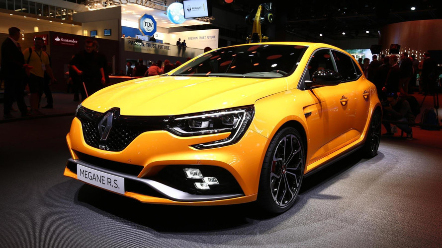 2018 Renault Megane RS Debuts With More Power, New Technologies