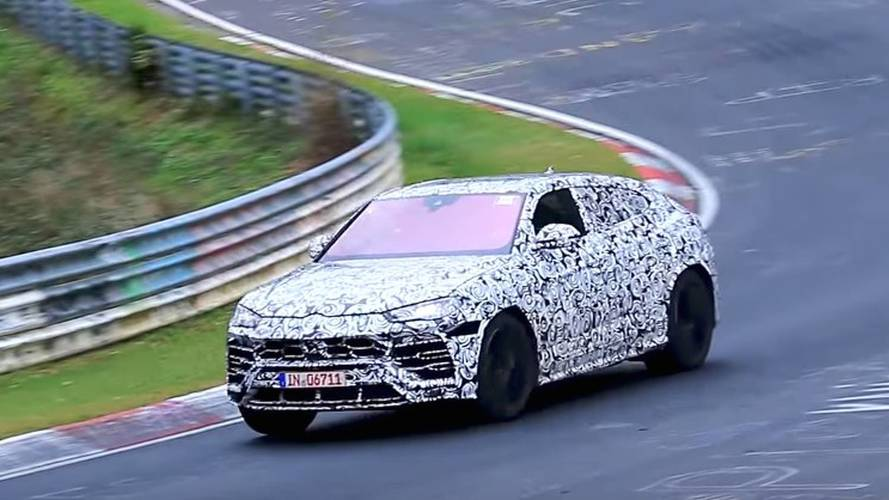 Watch The Lamborghini Urus Go Flat Out On The Nürburgring