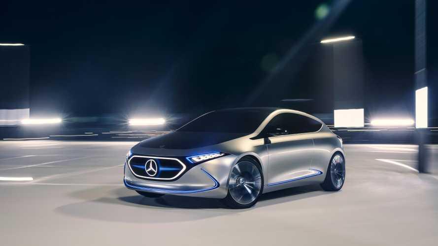 Mercedes EQA Concept, así será el primer compacto eléctrico de la marca