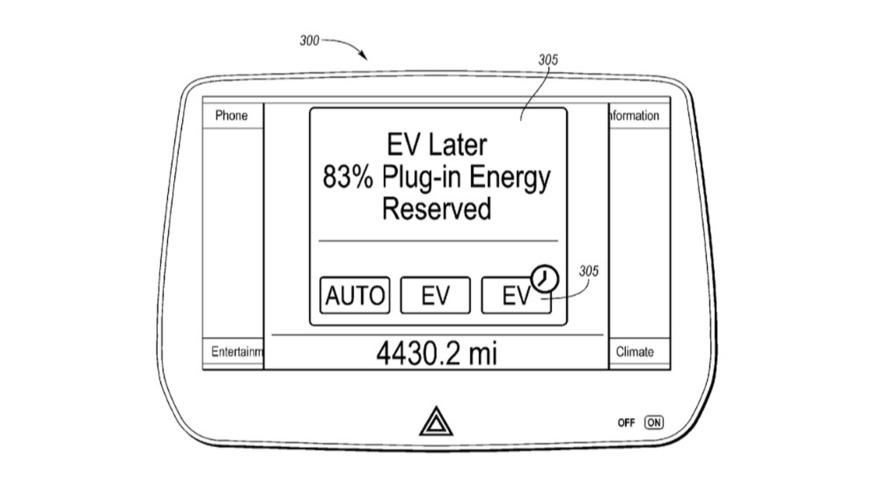 Ford EV Later patent