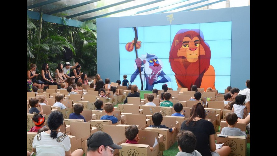 Drive-in Kids do shopping JK Iguatemi traz atração inédita da Disney Júnior