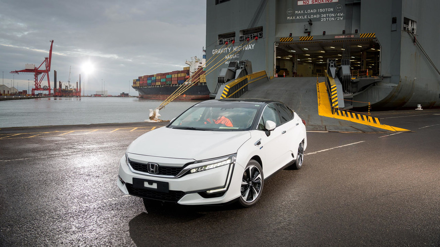 La Honda Clarity arrive en Europe