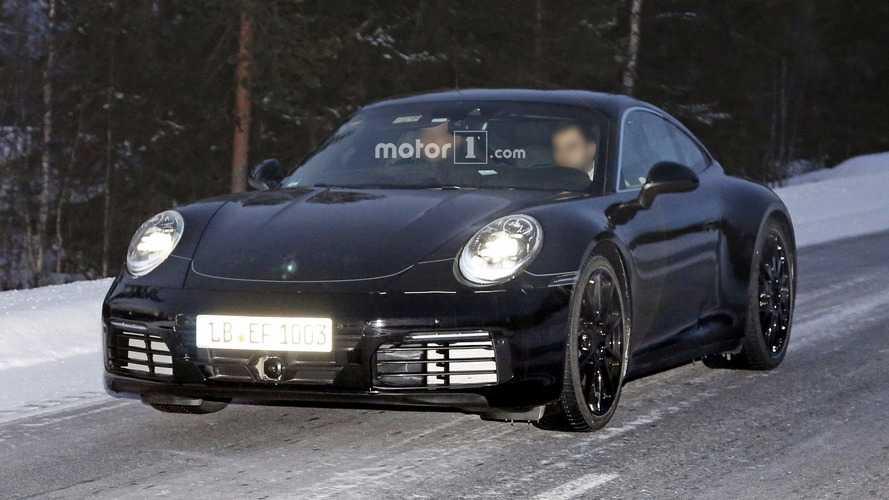 Flagra! - Porsche 911 de sétima geração já está em testes