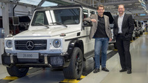 2016 Mercedes-AMG G63 on production line