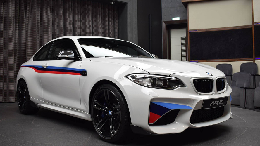 BMW M2 M Performance kiti