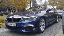 2017 BMW M550i xDrive gerçek fotoğrafları