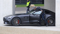 Mercedes-AMG GT C Coupe Edition 50 spy photos